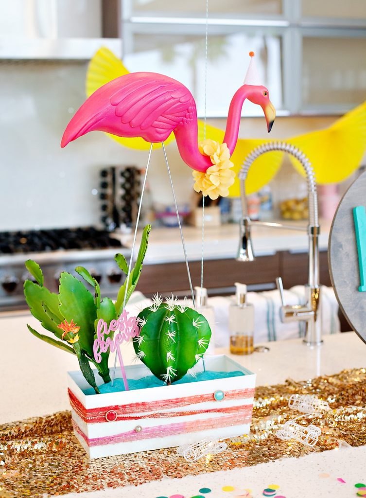 Flamingo Party Centerpiece