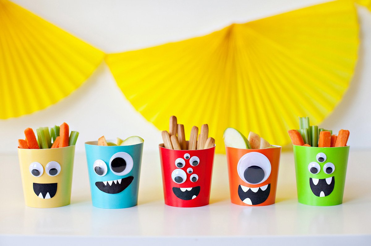 Kids Monster Snack Cups for Fisher-Price