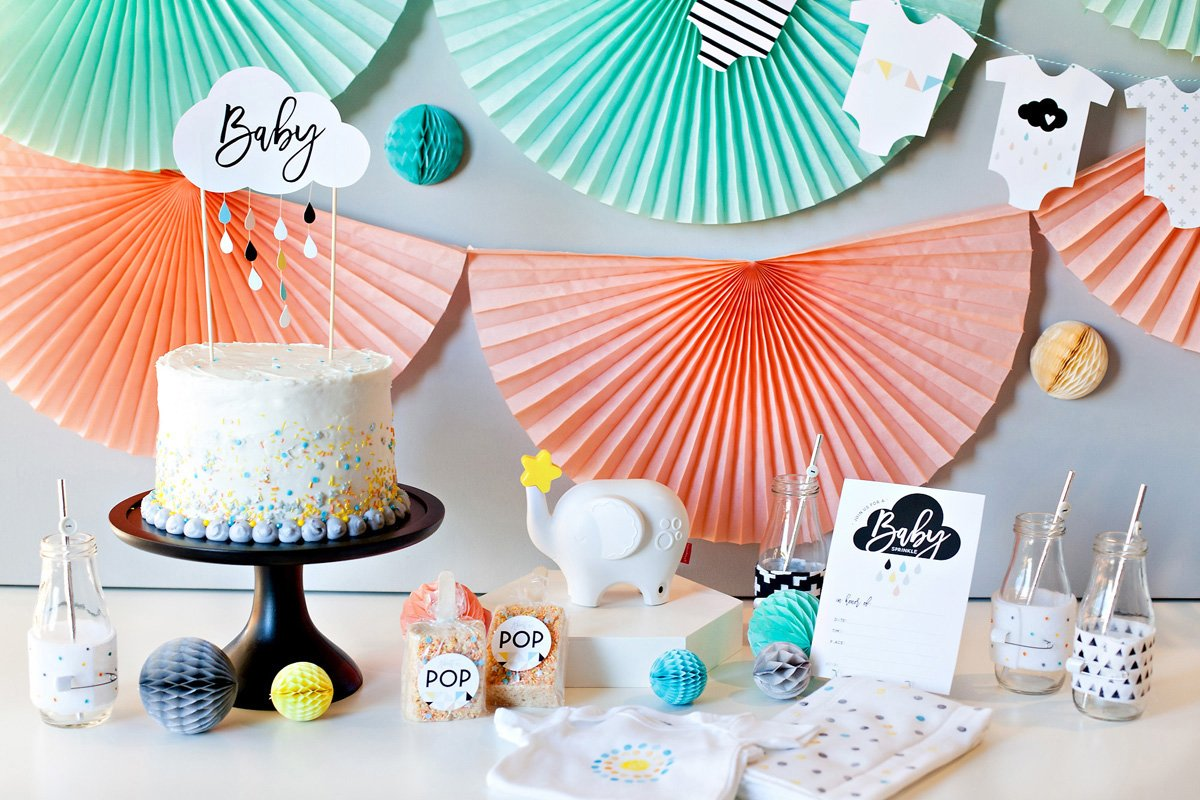 Baby Sprinkle Baby Shower Theme