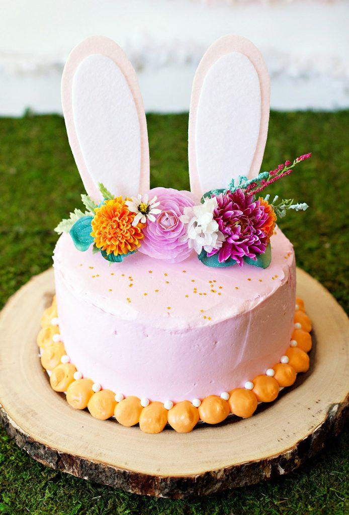 DIY Easy Bunny Cake