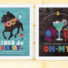 Cinco de Derby Party Printables