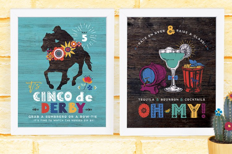 Kentucky Derby + Cinco de Mayo Party Printables!