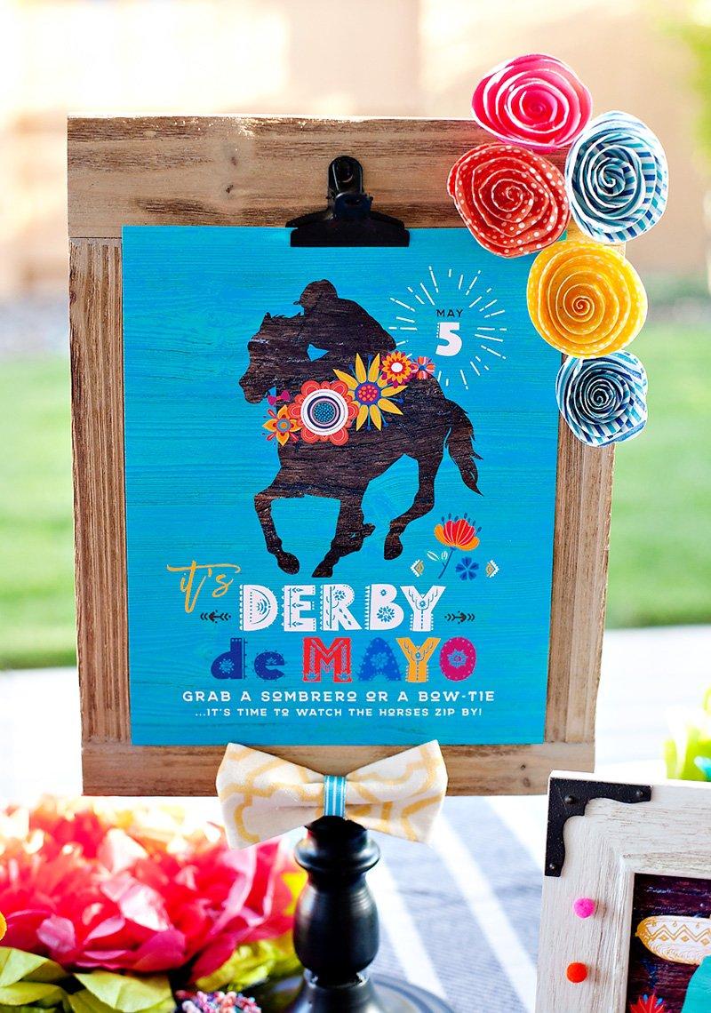 Derby de Mayo Printables