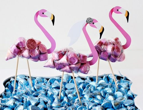 DIY Flamingo Party Favors – Regular & Bridal