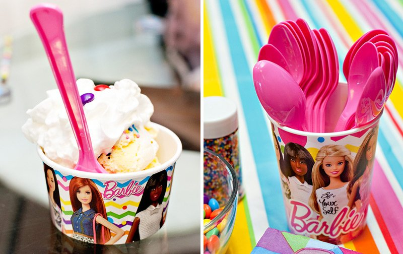 Barbie Ice Cream Sundae