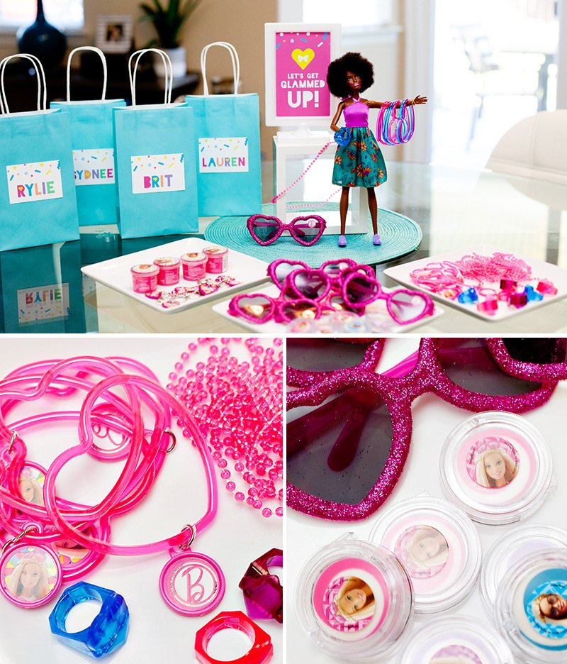Barbie Party Favor Station - Jewelry & Sunglasses