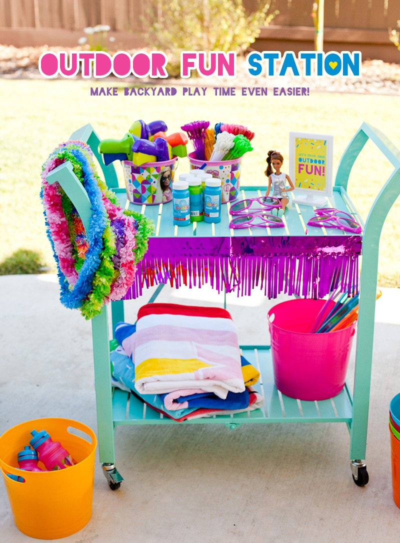 Outdoor Fun Party Station