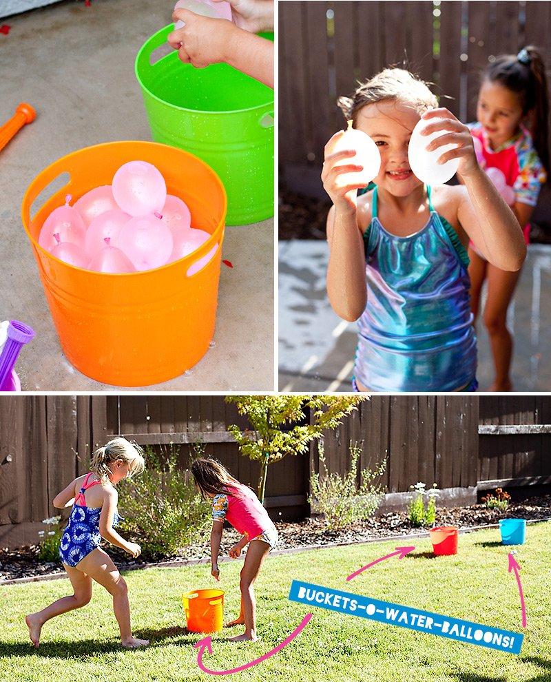 Kids Water Balloon Fun