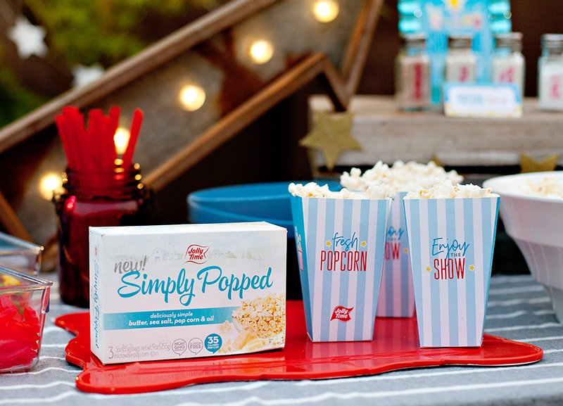 Printable Movie Night Popcorn Boxes