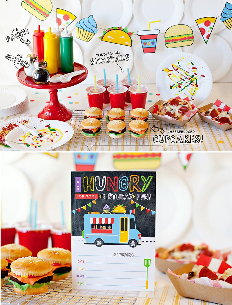 Food Truck Party Theme Ideas