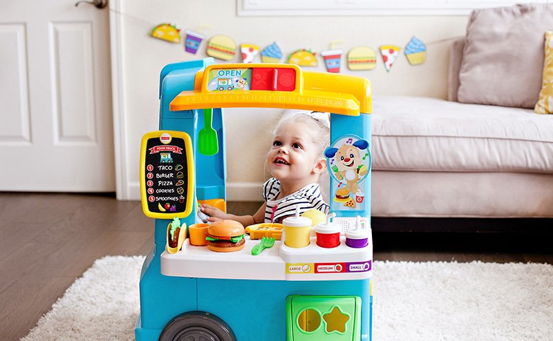 Fisher-Price Food Truck Toy