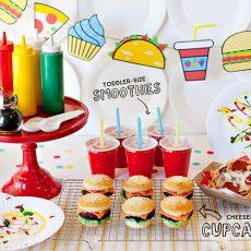 Food Truck Kids Birthday Party