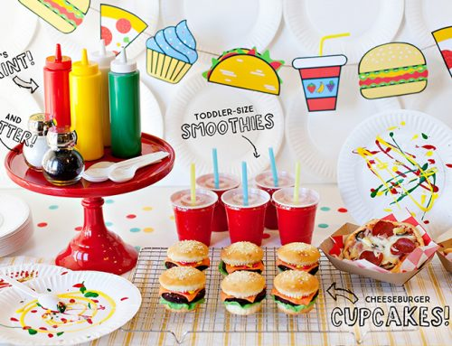 A Food Truck Inspired Kids Party – 7 Fun Ideas!
