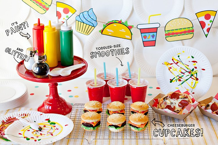 A Food Truck Inspired Kids Birthday Party