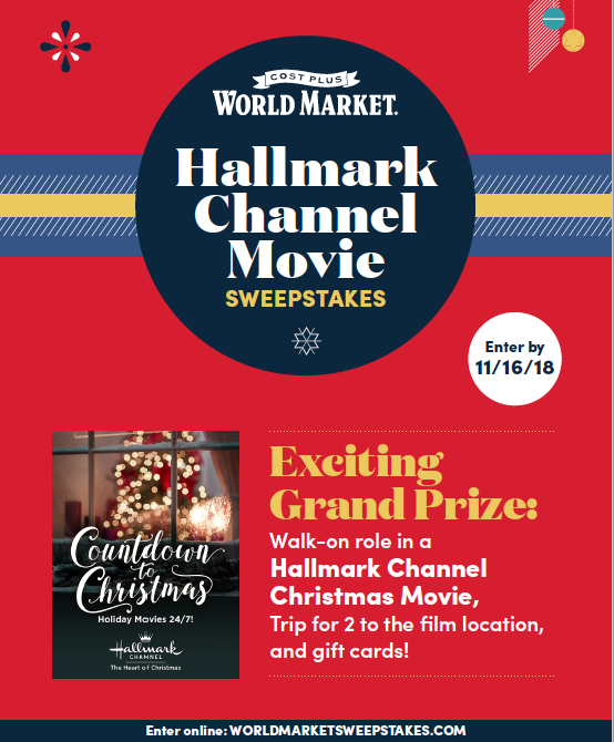 Hallmark Channel Sweepstakes Countdown to Christmas