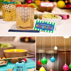 Rainbow Christmas Party Ideas