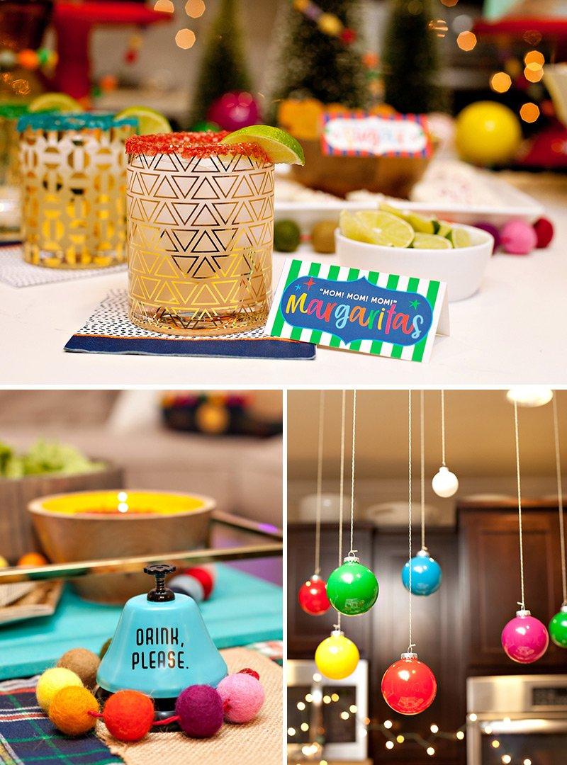 Rainbow Christmas Party Ideas
