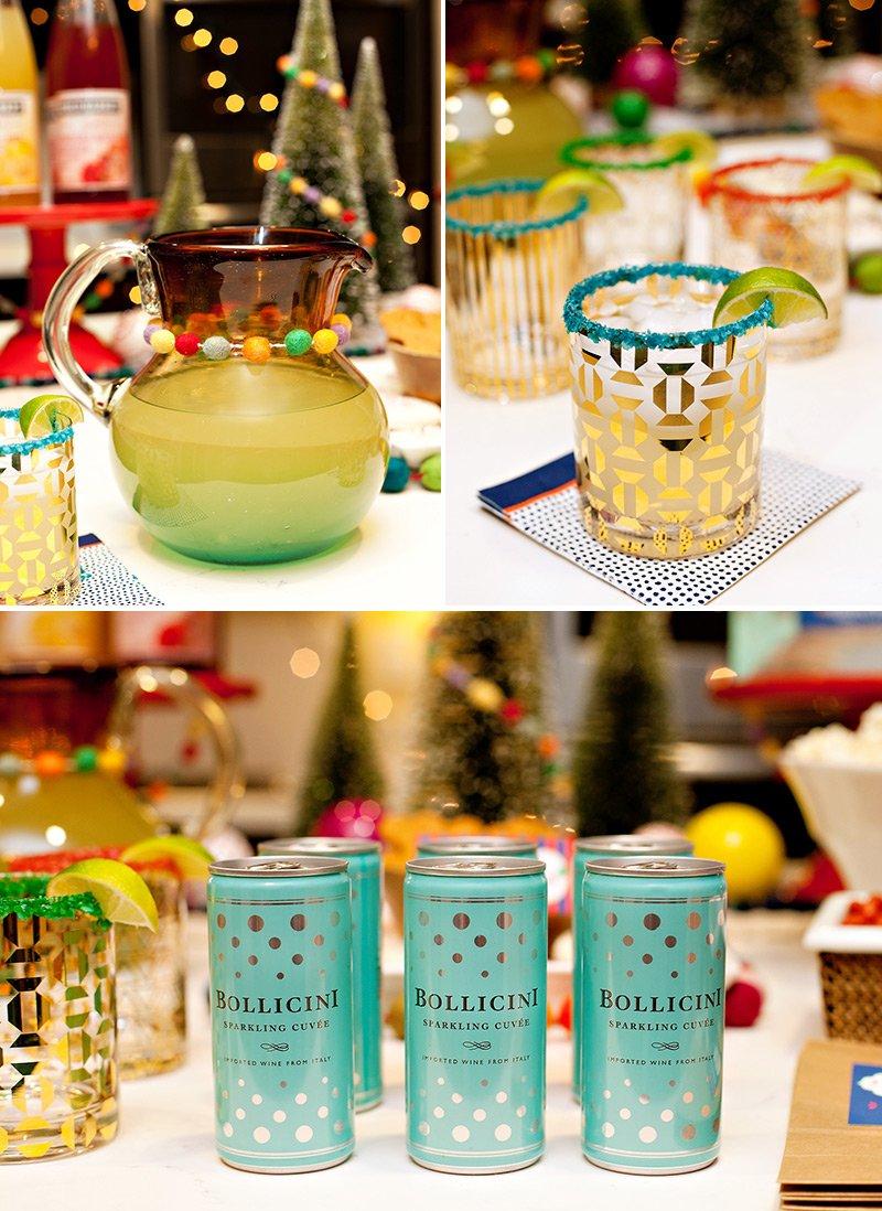 Bollicini Sparkling Wine + Holiday Drinks