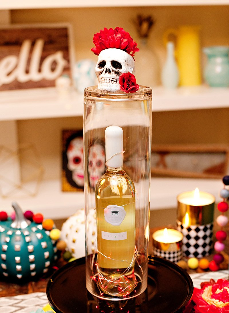 Dia de los Muertos wine party ideas