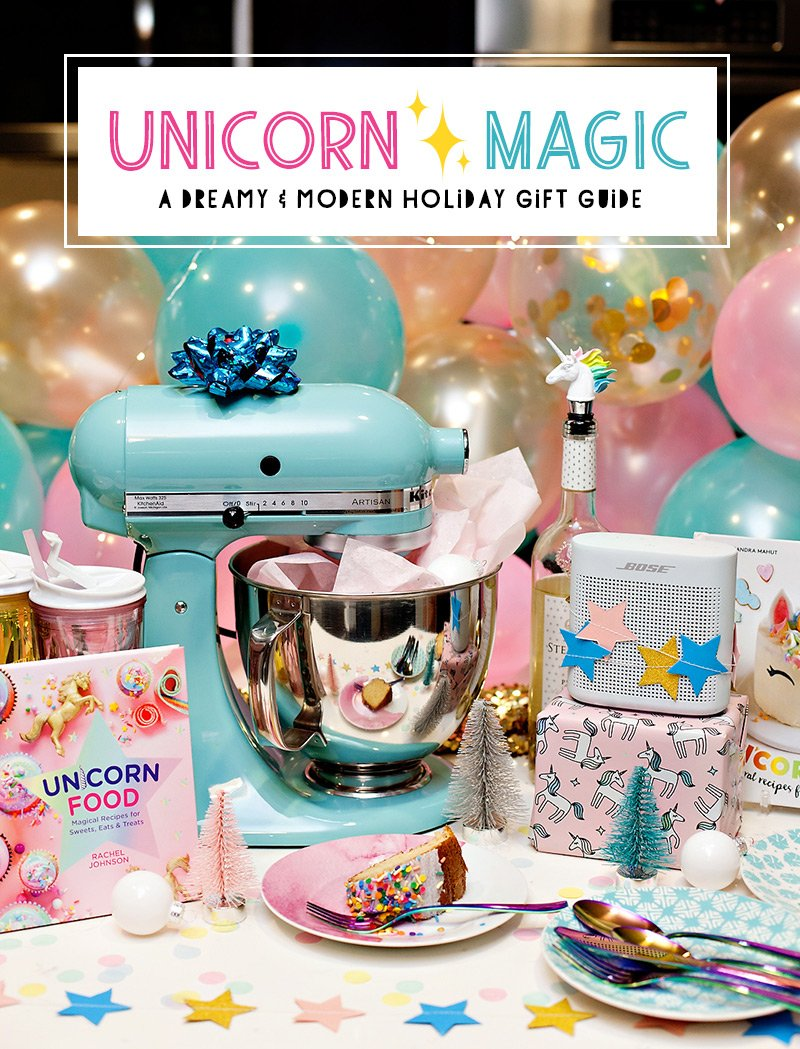 Unicorn Gift Ideas - Holiday Gift Guide