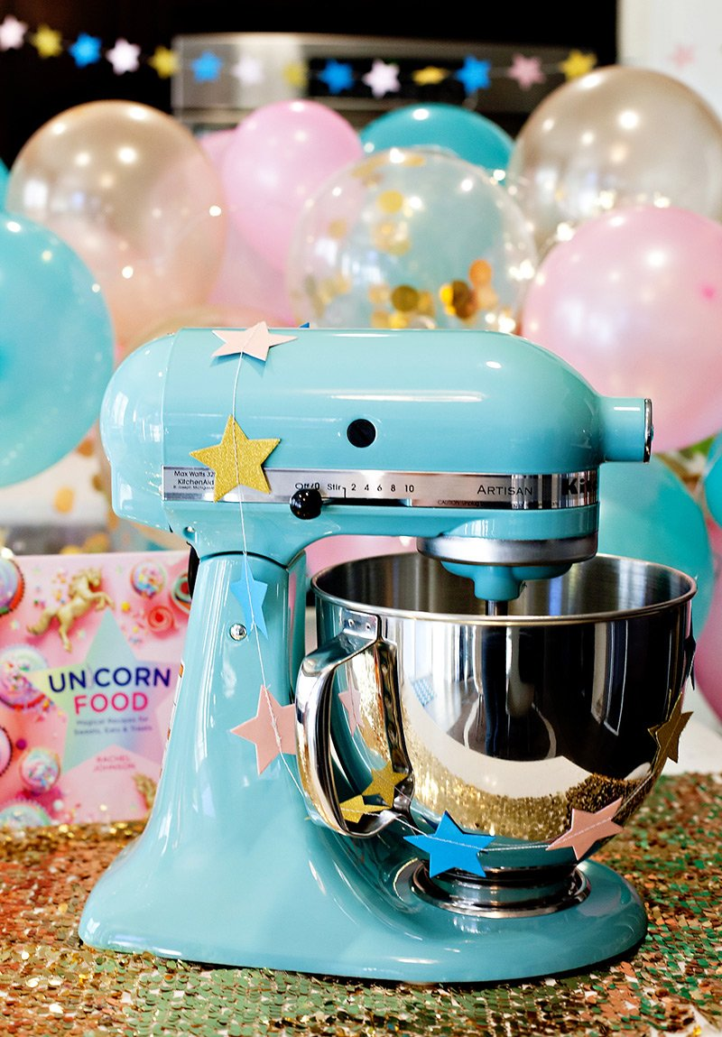 Kitchenaid Stand Mixer Aqua - Unicorn Kitchen