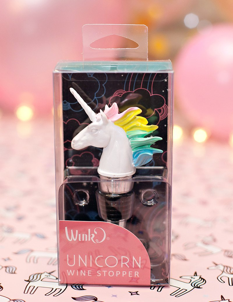 Unicorn Wine Stopper Gift