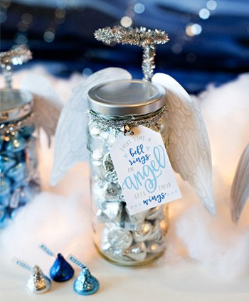 angel jar holiday gift