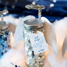 DIY Holiday Gift Jar Angel