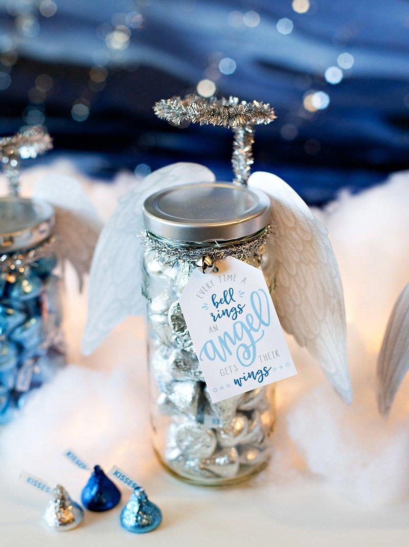 DIY Holiday Gift Jar Angel
