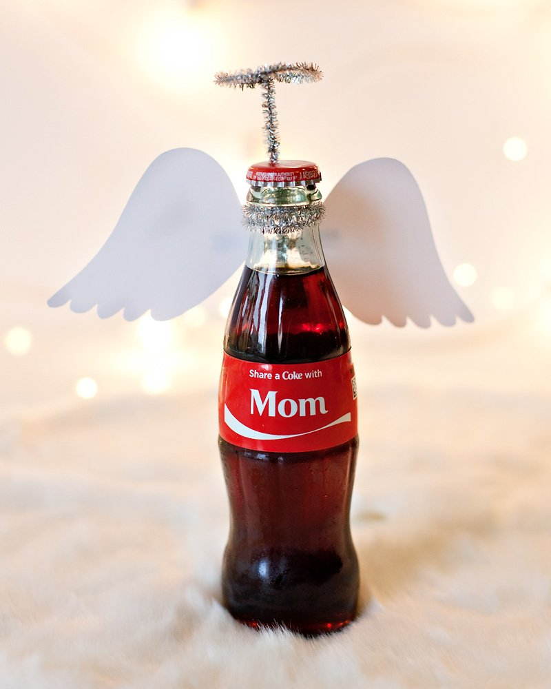 Angel Coca-Cola Bottle Gift Idea