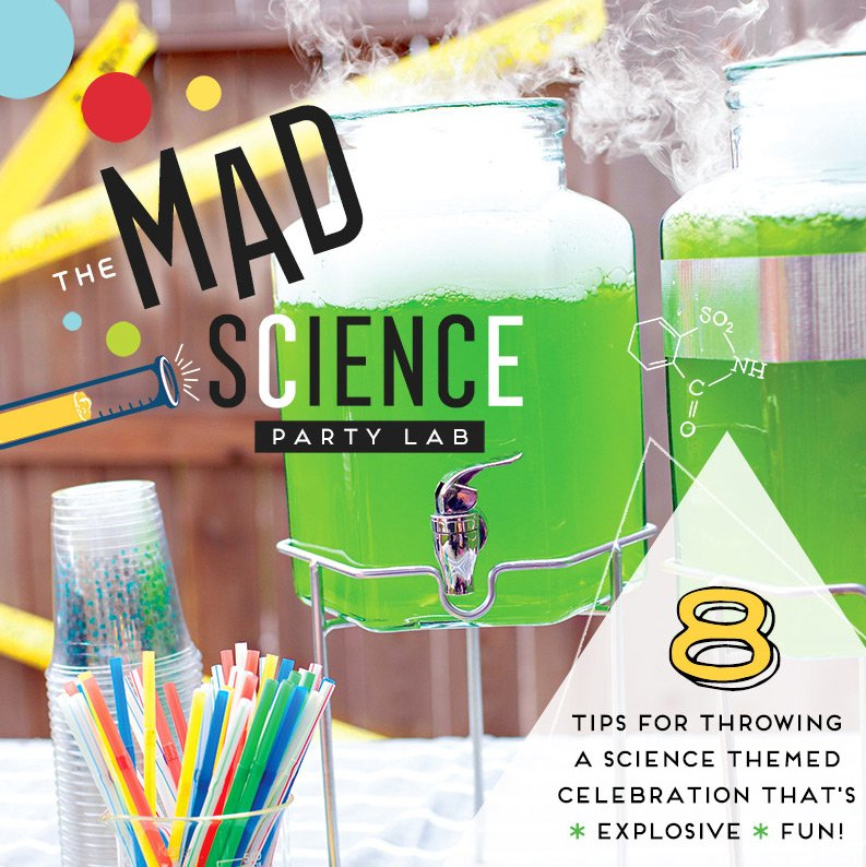 The Mad Science Party Lab – 8 Tips for Explosive Fun!