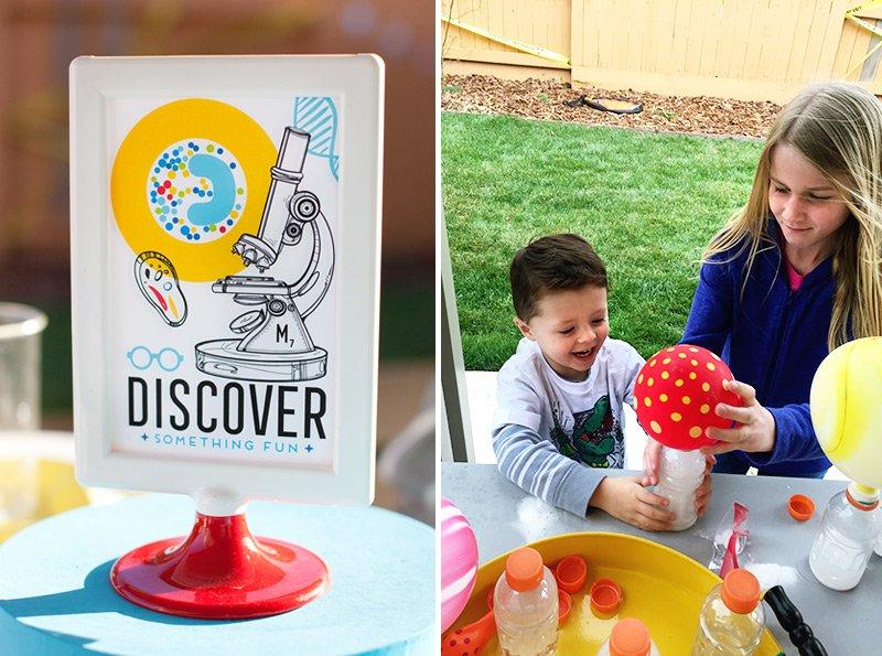 science party activity ideas