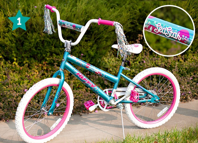Sea Star EZ Build Girls Bike Gift Idea