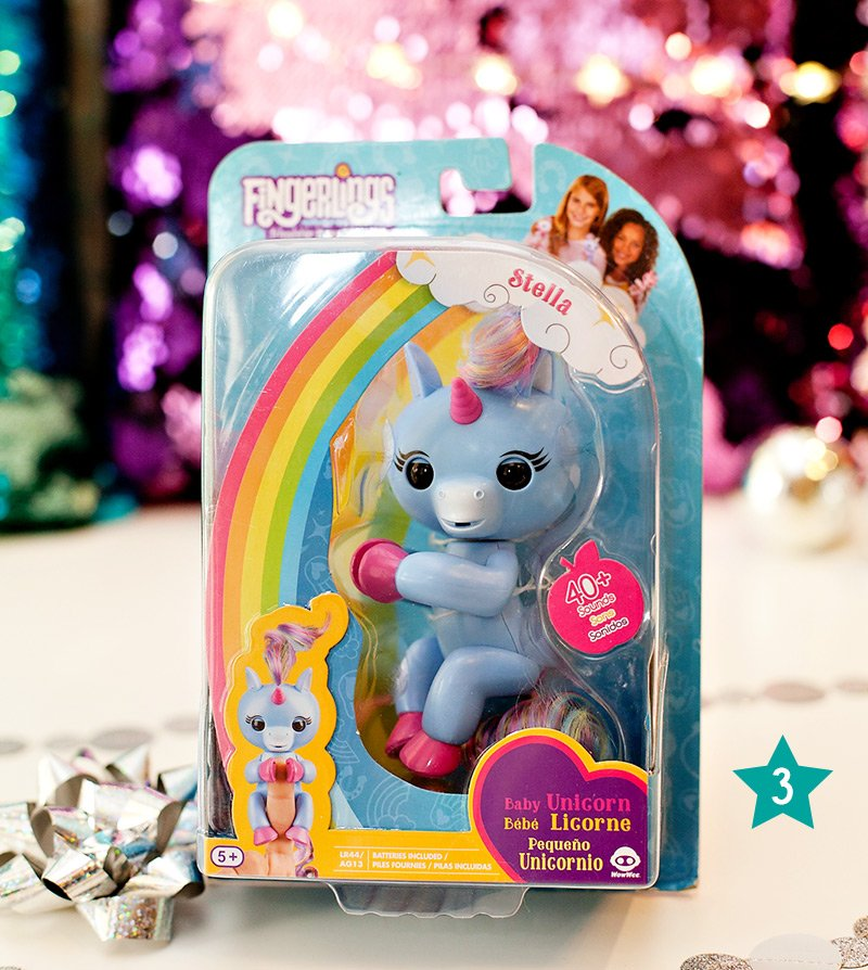 Unicorn Fingerlings Gift Idea - Stella