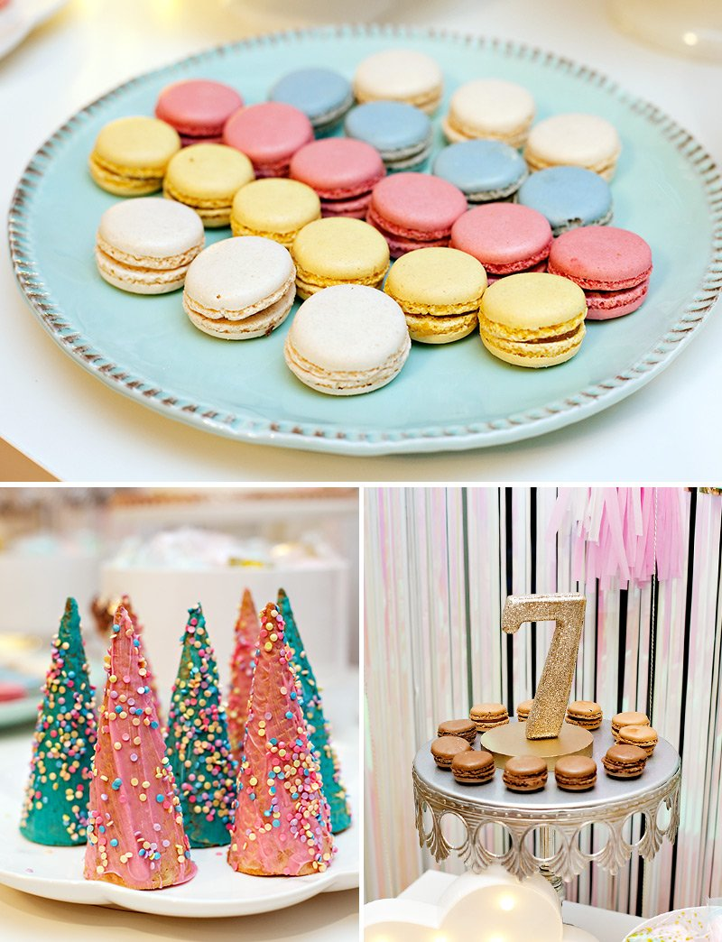 A Simple & Sparkly Unicorn Dessert Table (+ How-To