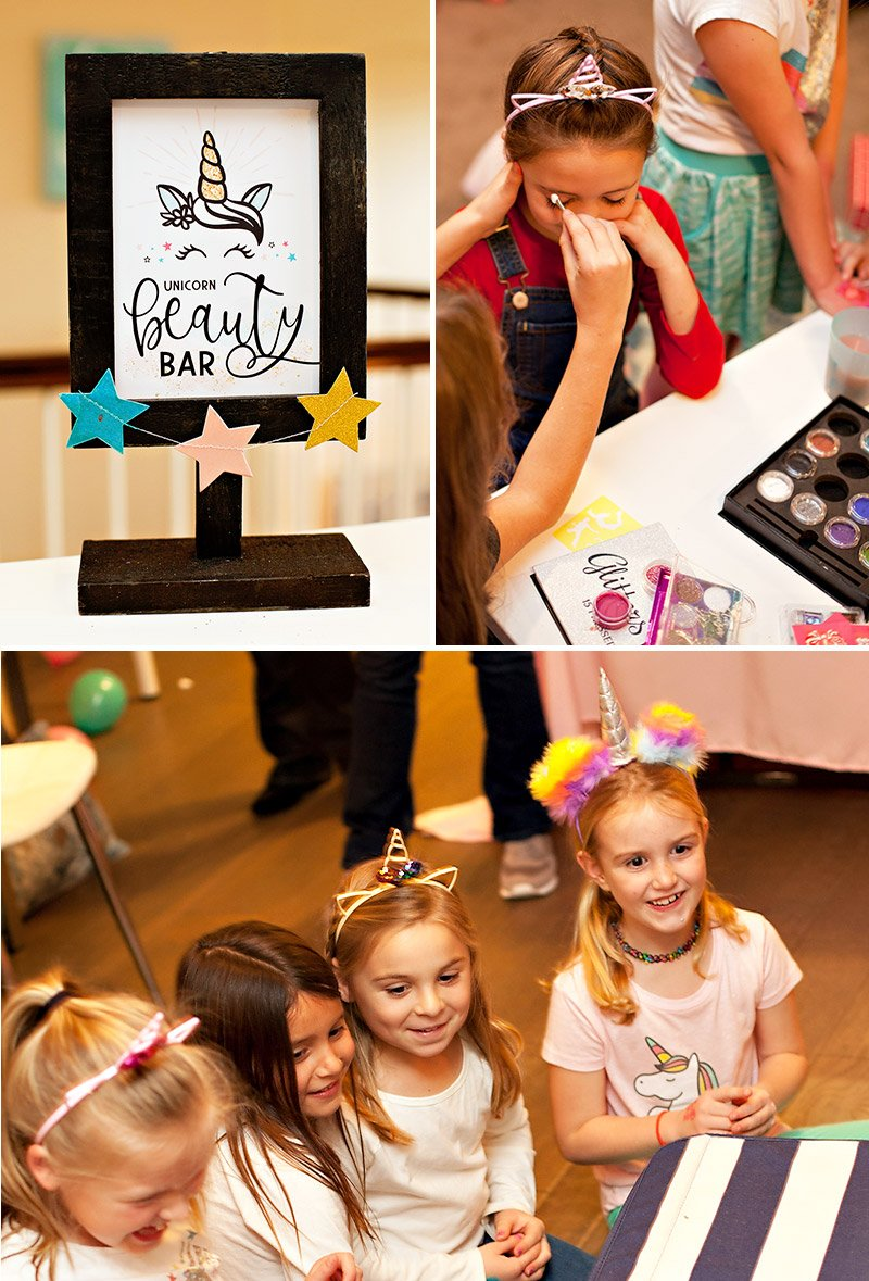 unicorn party beauty bar
