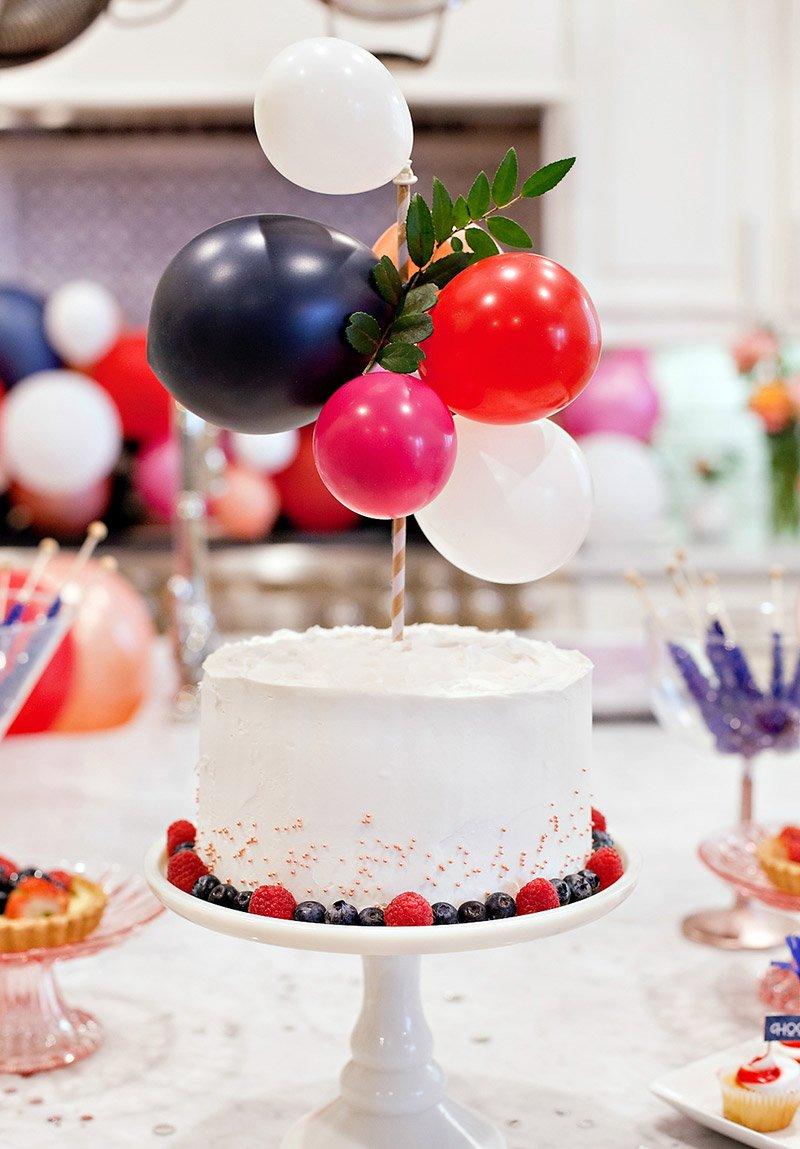 DIY Balloon Cake Topper
