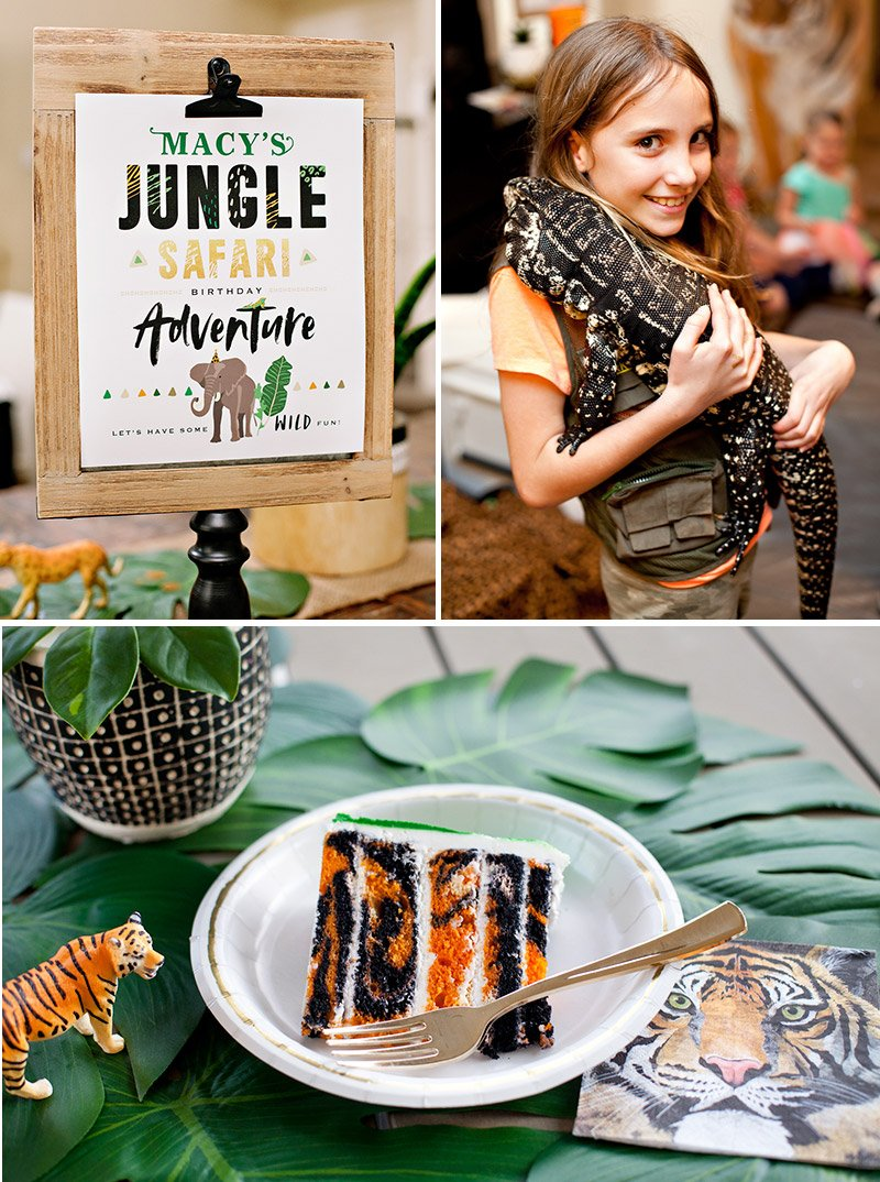 Jungle Safari Birthday Party Ideas
