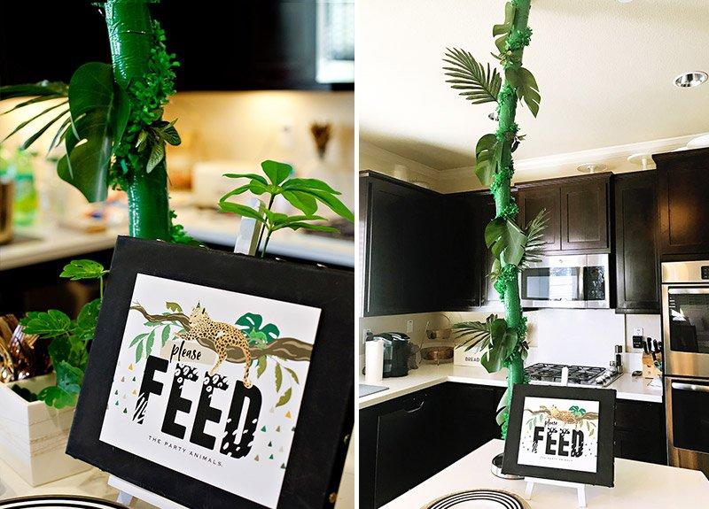 DIY Jungle Vine Party Decoration