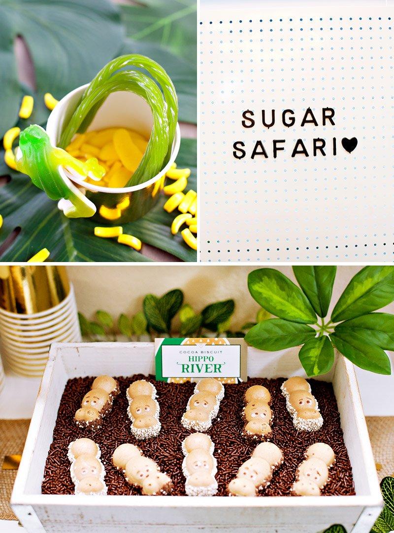 Jungle Safari Dessert Station