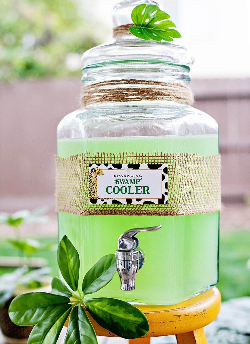 Jungle Safari Party Drink - Swamp Cooler