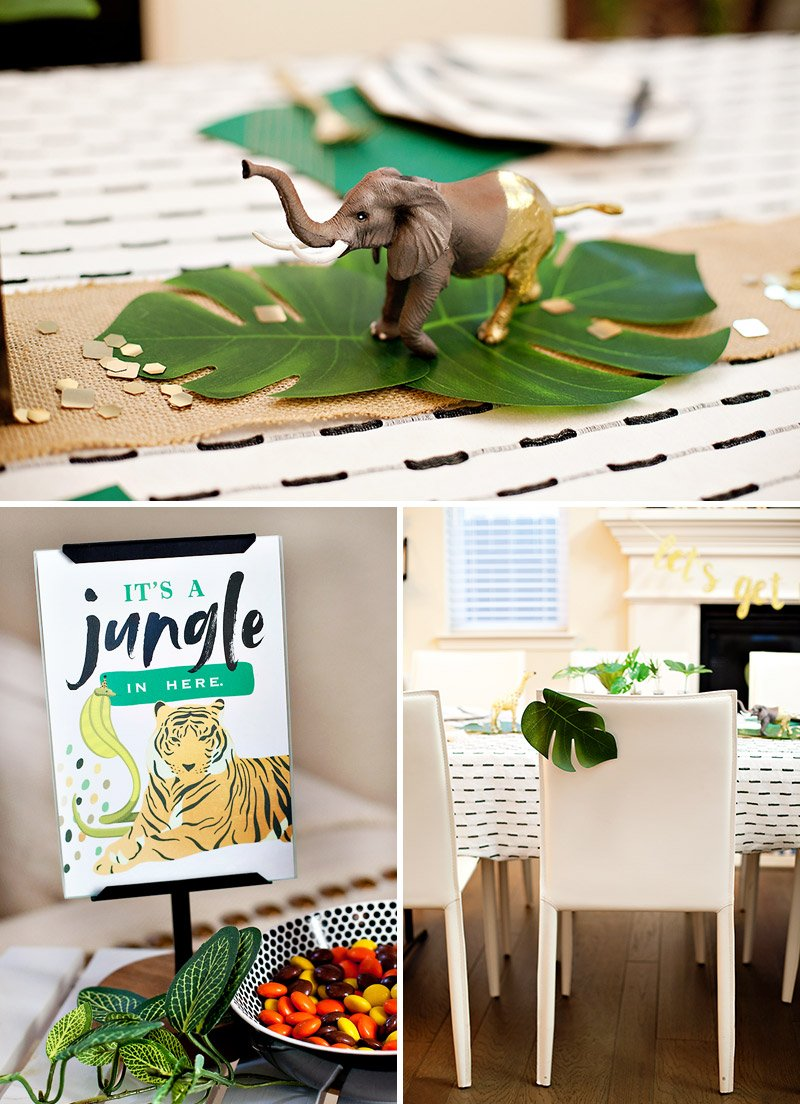 Jungle Safari Elephant Centerpiece