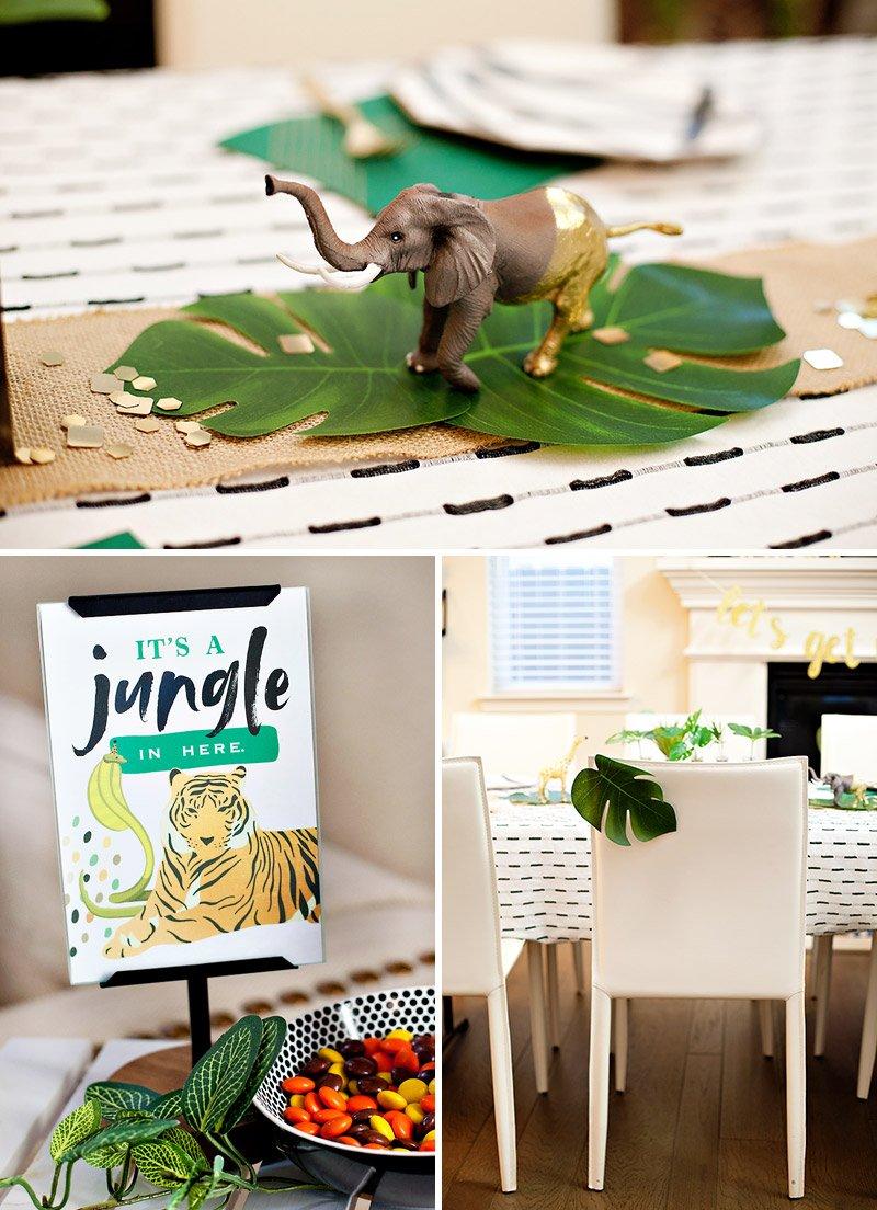 Jungle Safari Elephant Centerpiece