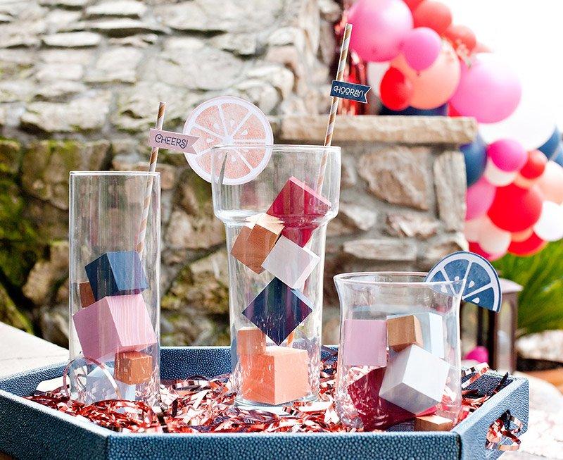 cocktail party centerpiece idea