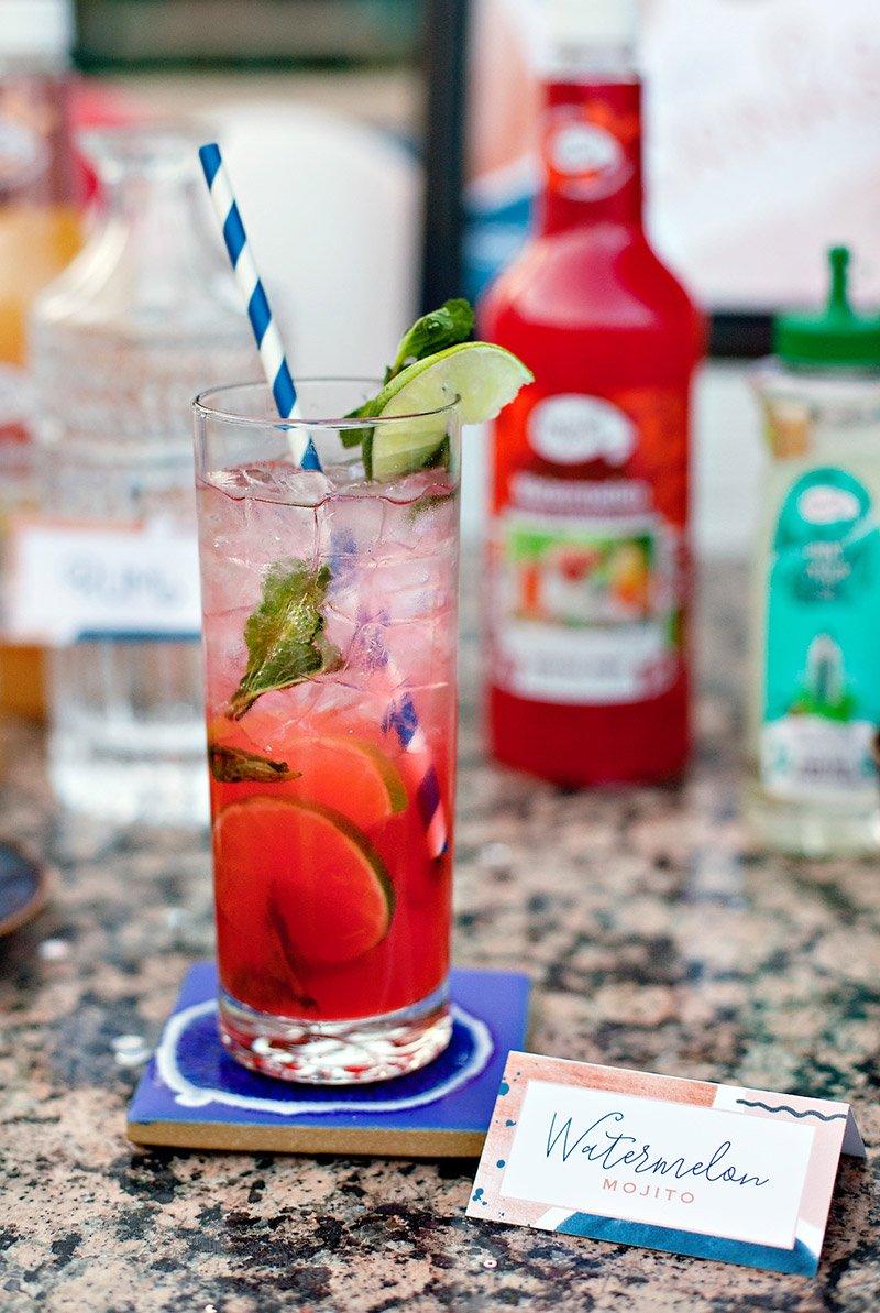 Watermelon Mojito Cocktail