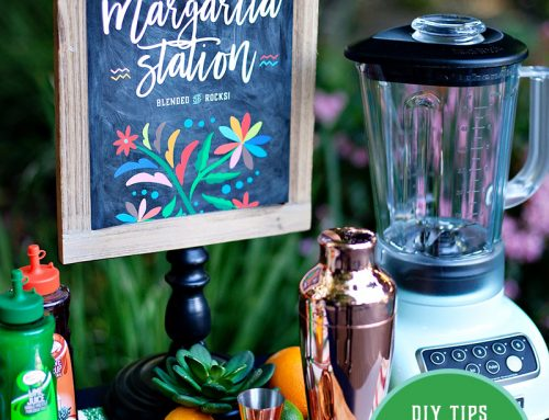 5 Tips for Styling a Margarita Station + Free Printables