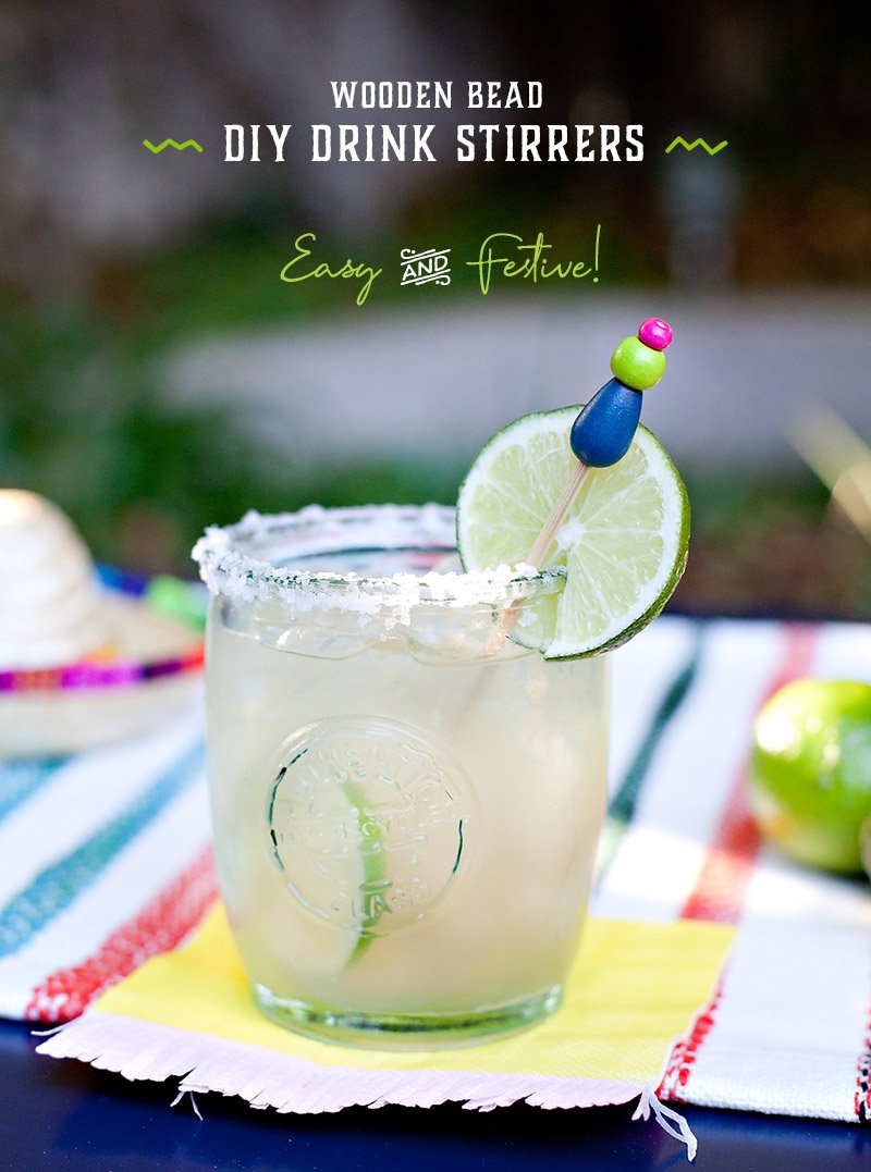 DIY Fiesta Cocktail Stirrers