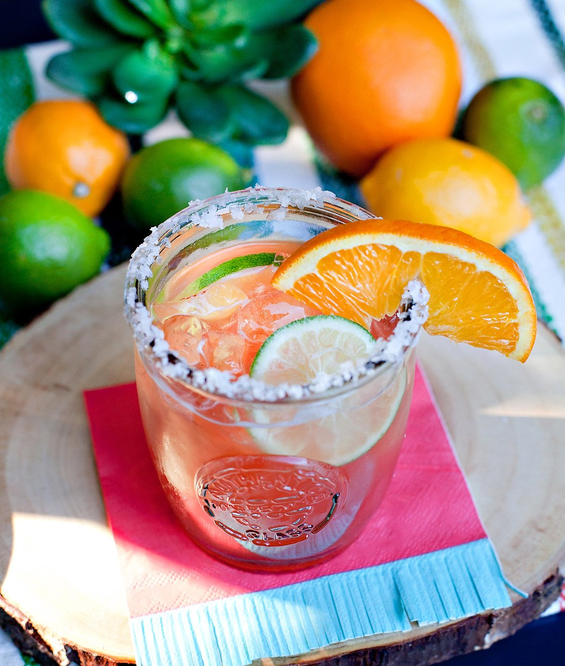 Blood Orange Cinnamon Margarita