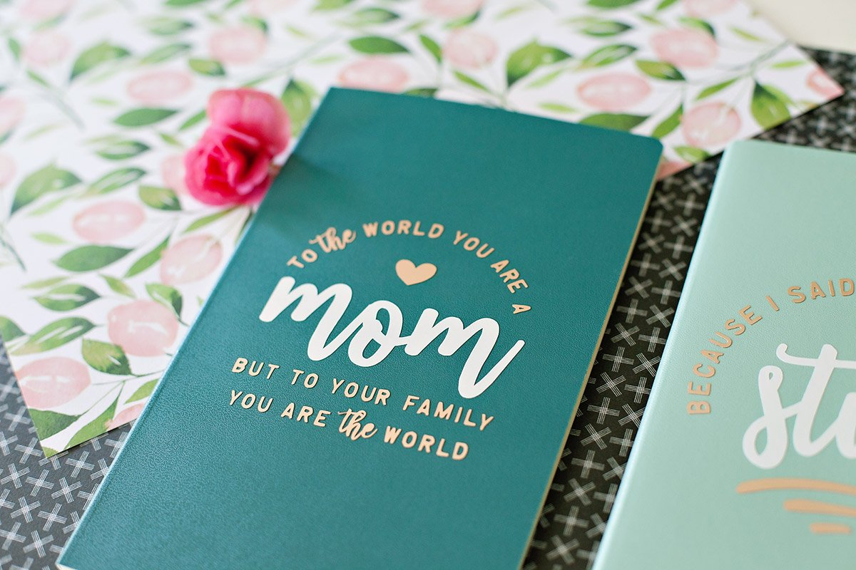 DIY Journal for Mother's Day