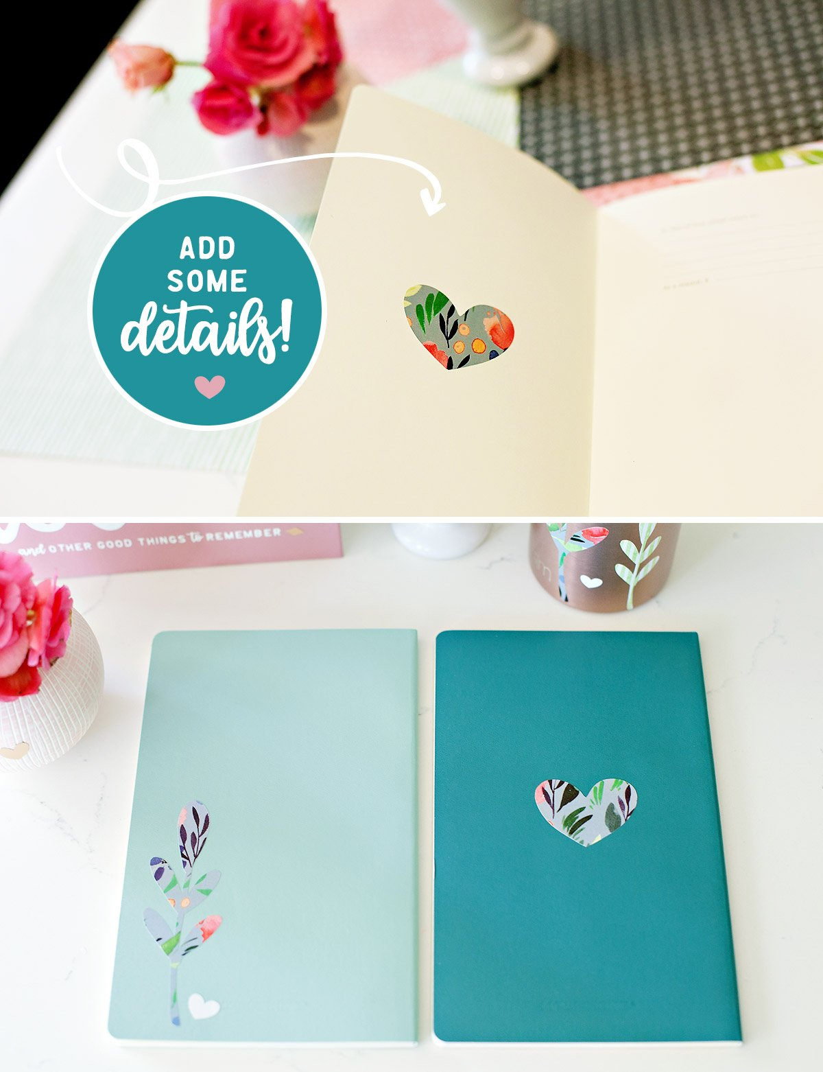 Personalized Journals with Cricut